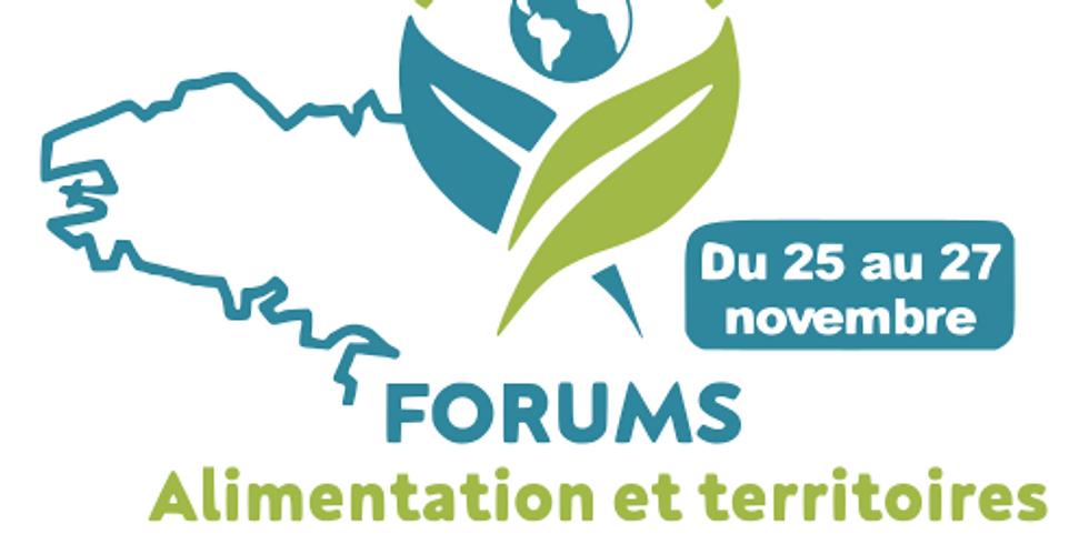 Forum Alimentation et Territoires - la résilience alimentaire des territoires