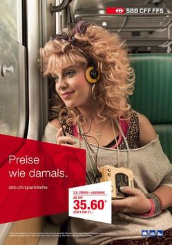 SBB – Preise wie damals.