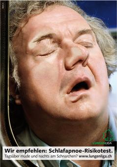 Lungenliga – Schlafapnoe-Risikotest