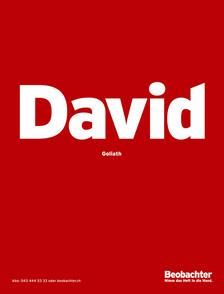 Beobachter – David/Goliath