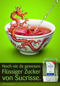 Sucrisse – Kampagne Flüssiger Zucker