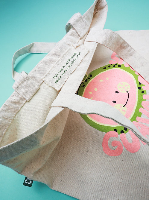 Recycled Guavalicious Tote Bag