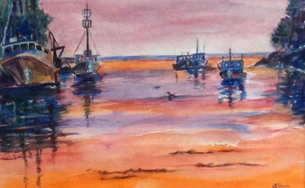"""""""Boats Awaiting Dawn"""""""