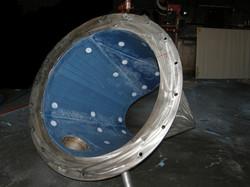 Tivar 88_Hopper for mineral sands_ Round hopper pre-instal into main body