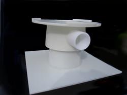 Natural HDPE Filter Cone