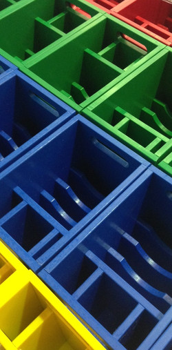 HDPE Fabricated Boxes