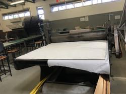 HDPE Natural Work top; Printmaking