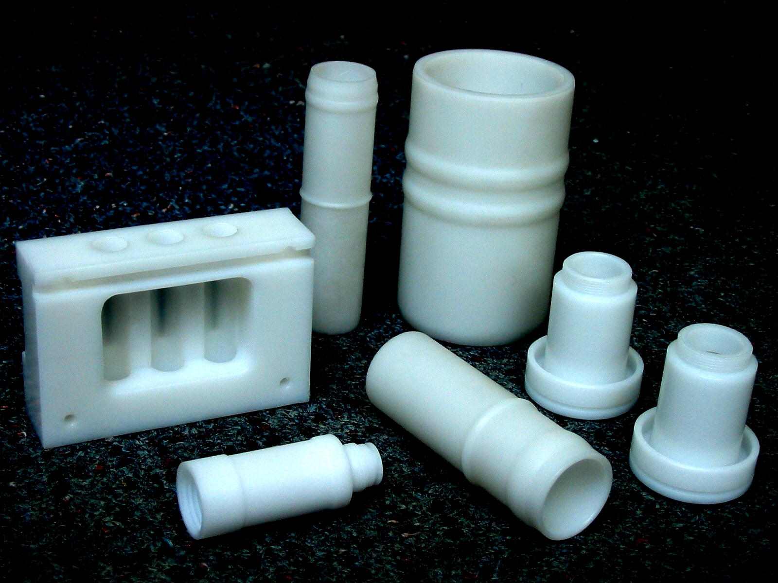 Various Natural Acetal Parts (POM)