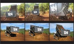 QuickSilver truck dumping clay