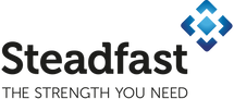 Logos with tagline_Steadfast logo taglin