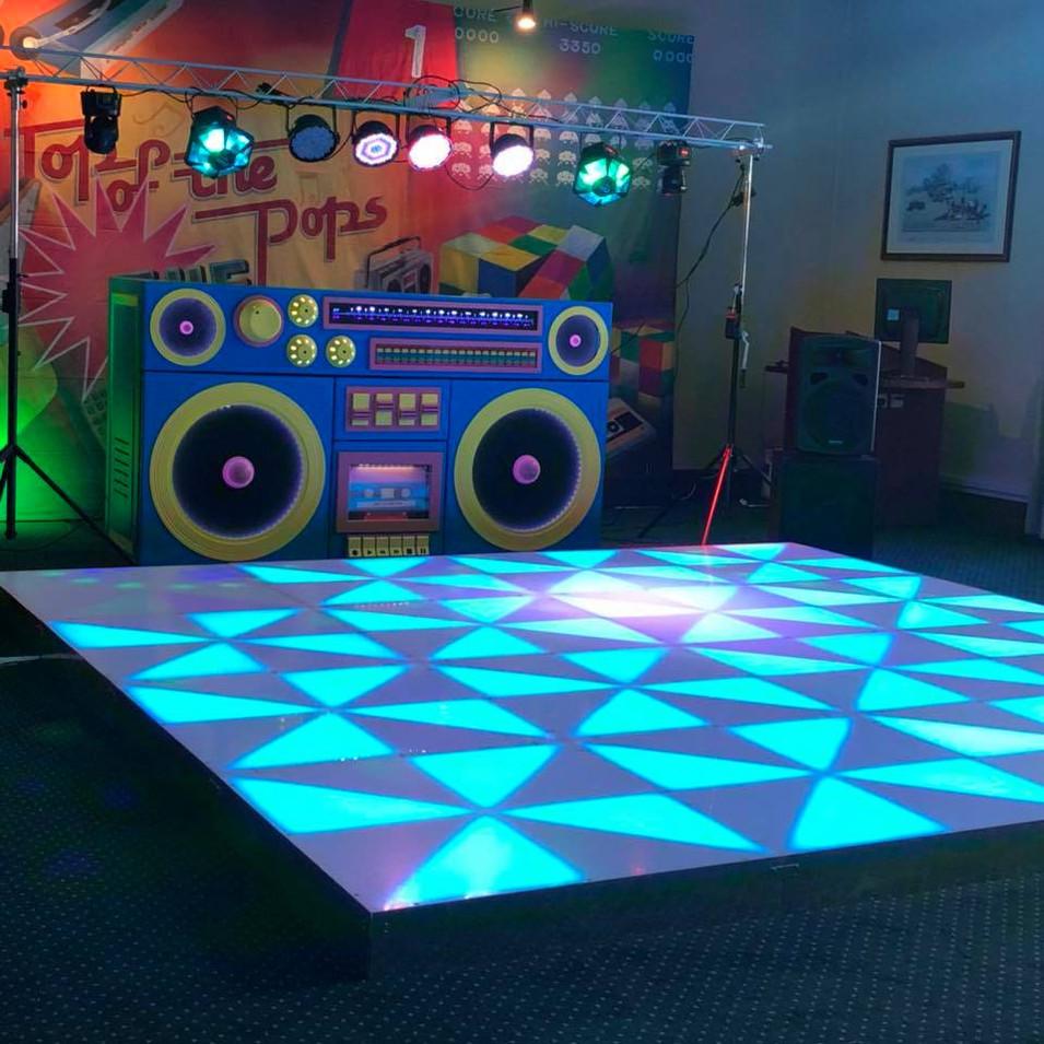 80s Dance Floor