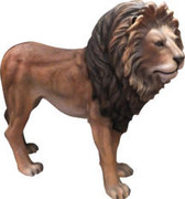 Life Size Resin Cast Lion