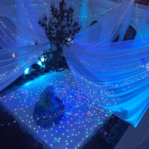 White Starlit Dance Floor