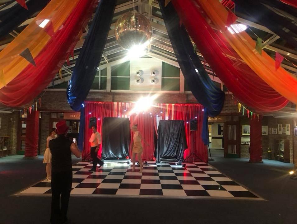Cheaquered Dance Floor