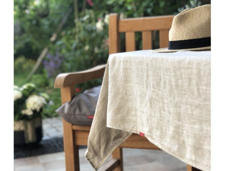 Zahradní slavnost  -  nadčasově a minimalisticky