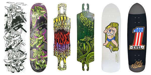 gritty arts steven grit lombardi skateboarding skateboards artist illustrator