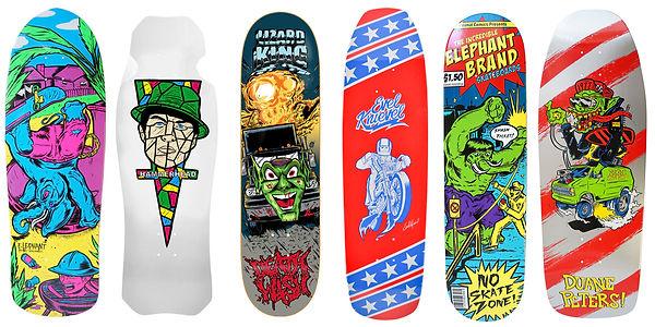 gritty arts steven grit lombardi skateboard artist art skateboarding hosoi deathwish duane peters