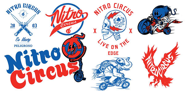 gritty arts steven grit lombardi nitro circus