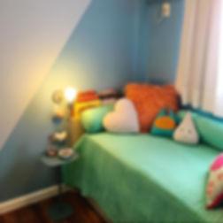 Mais um ângulo deste quarto infantil. Ut