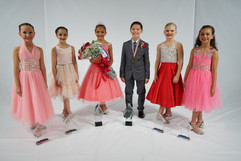 Petite Miss and Master Dance of America and their court 2020
