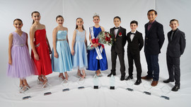 Junior Miss & Mr Dance of America and their court 2020
