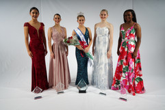 Miss Dance of America and her court 2020