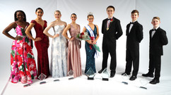 Miss & Mr Dance of America and their court 2020
