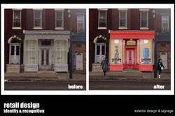 RETAIL DESIGN & SIGNAGE