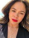 Red Lip Spring Look