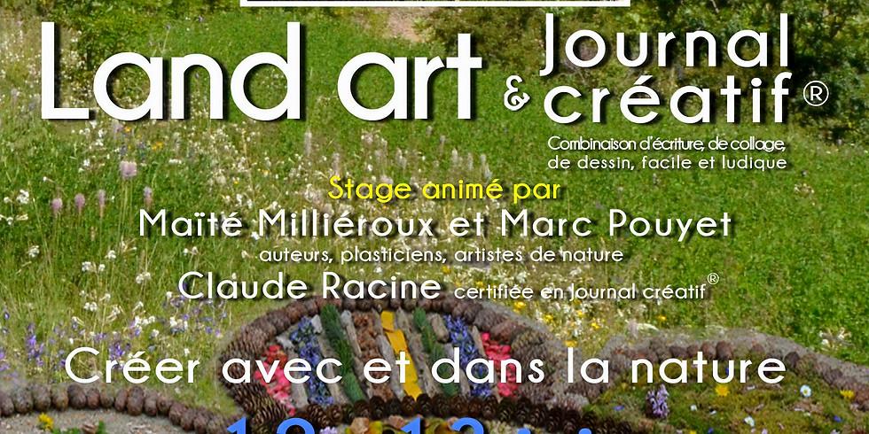 Stage land'art et journal créatif au Revard en Savoie
