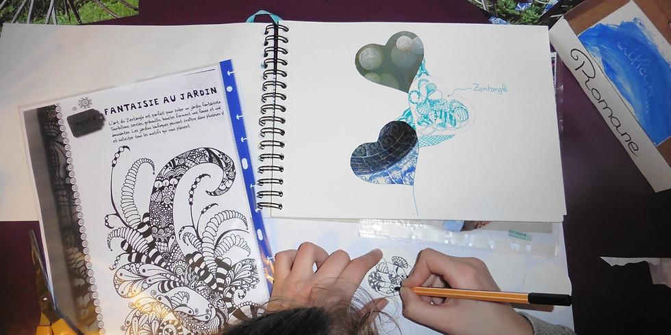 Stage d'initiation au journal créatif®  - second module