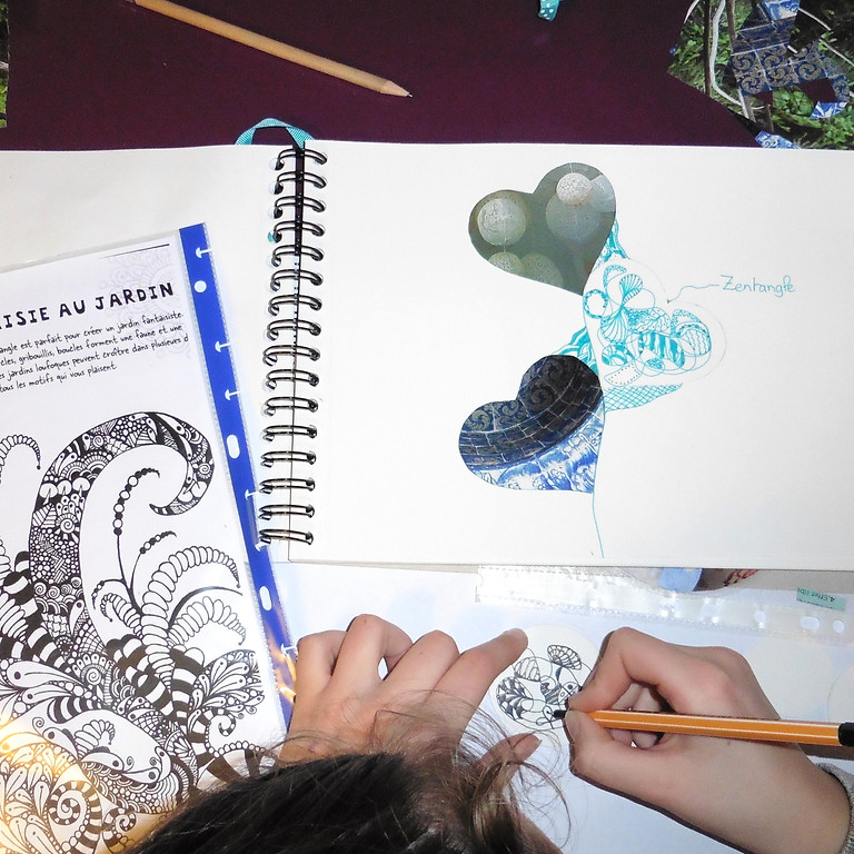 Stage d'initiation au journal créatif® - 1er module