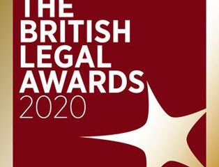 Chan Neill Solicitors LLP is delighted to be shortlisted in the British Legal Awards 2020