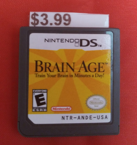 Nintendo DS-Brain Age-St.George Blvd.
