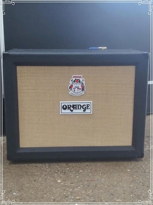 """Orange speaker cabinet- 2×12"""" 120W - St.George Blvd"""