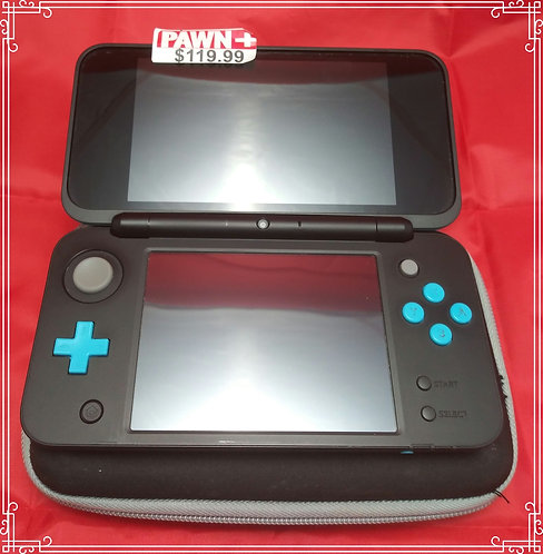 Nintendo 2DS XL W\Charger & Case