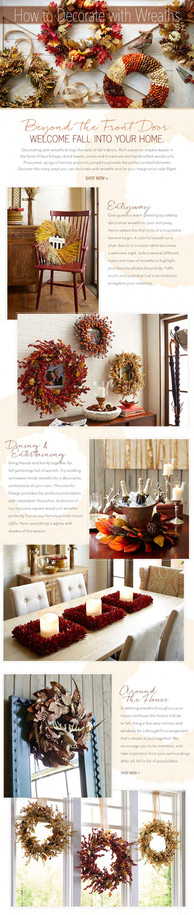 How to Decorate with Wreaths Editorial.j