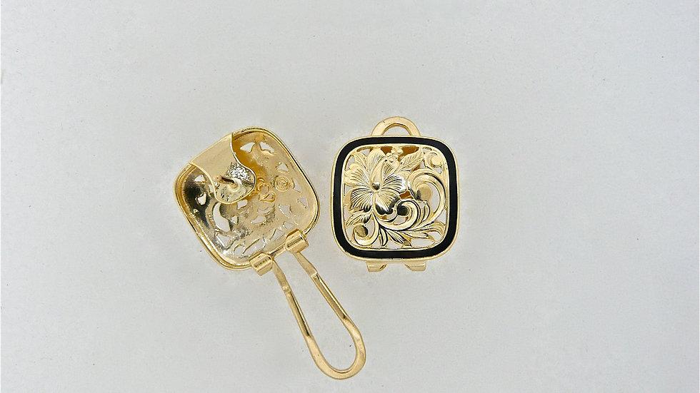 E0228 Paunani 14K Gold Earring