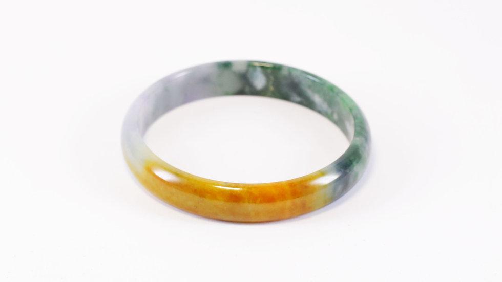 Tricolor Jade Bracelet