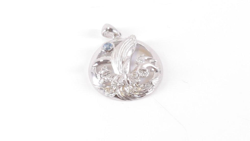 Whale Pendant Silver