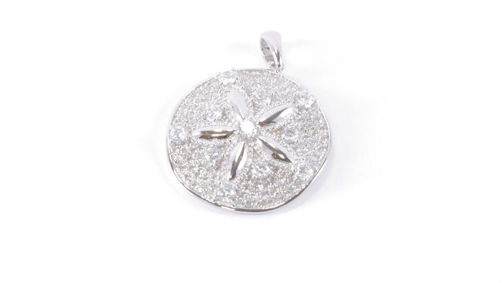 Silver Shell Star Pendant