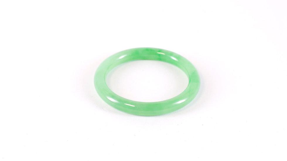 Jade Round Bangle
