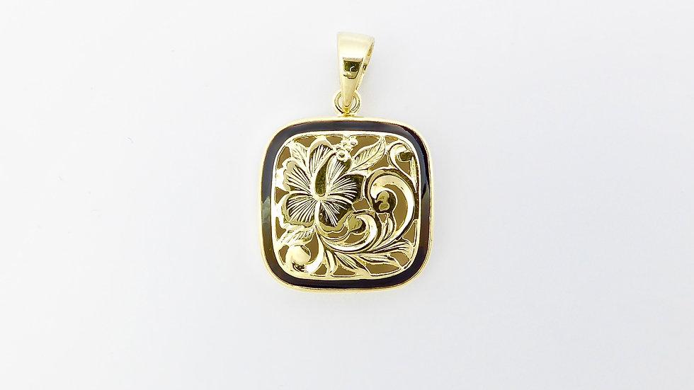 14K Gold Puanani Pendant Small