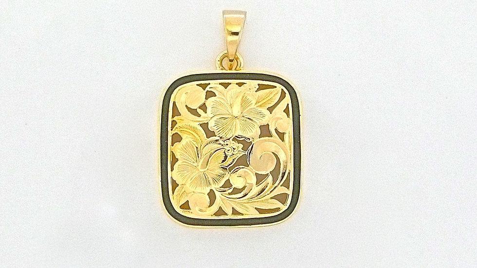 14K Gold Puanani Pendant BB Large