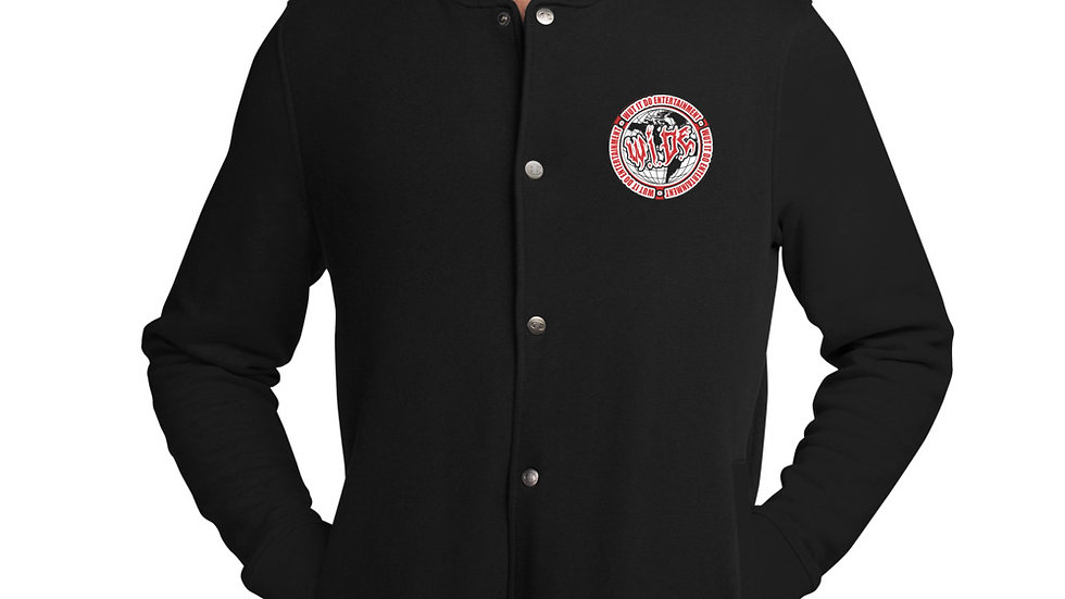 WIDE Embroidered Champion Bomber Jacket