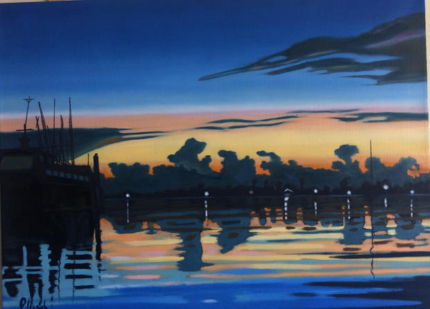 Port Reflections SOLD