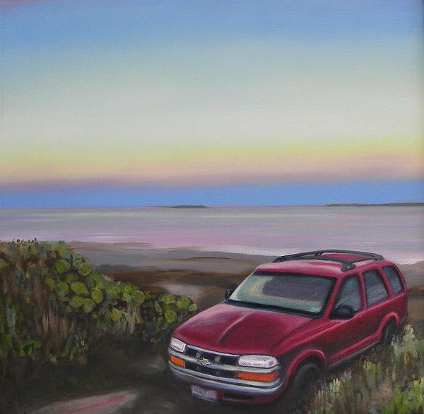 Holly Beach Car