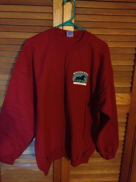 BR Sweatshirt- Front- Red