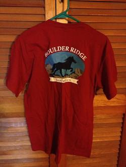 BR Tshirt- back- Red