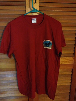 BR Tshirt Front- Red